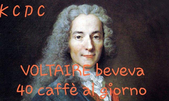 VOLTAIRE BEVEVA 40 CAFFÉ AL GIORNO